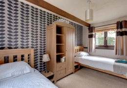 Partridge Twin Bedroom 2